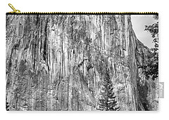 Southwest Face Of El Capitan From Yosemite Valley Carry-all Pouch