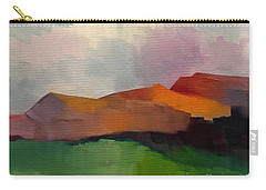 Carry-all Pouch featuring the painting Southwest Light by Michelle Abrams