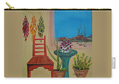Southwestern 6 Carry-all Pouch by Judith Rhue