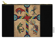 Southwestern Cross Carry-all Pouch