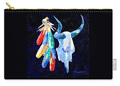 Southwestern Kitsch  Carry-all Pouch