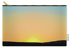 Carry-all Pouch featuring the photograph Southwestern Sunset by David Gordon
