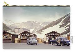 Souvenir Shops, Mountain Pass, France Carry-all Pouch