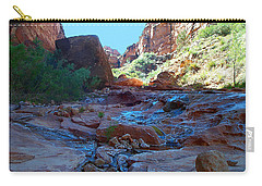 Sowats Creek Kanab Wilderness Grand Canyon National Park Carry-all Pouch