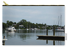 Carry-all Pouch featuring the photograph Spa Creek From The Park  by Donald C Morgan