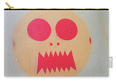 Carry-all Pouch featuring the photograph Space Alien by Art Block Collections