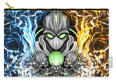 Space Alien Time Machine Fantasy Art Carry-all Pouch