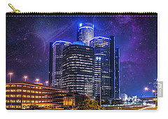 Carry-all Pouch featuring the photograph Space Detroit by Nicholas  Grunas