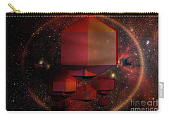 Space Fractal Carry-all Pouch by Melissa Messick