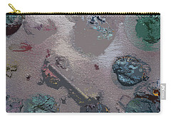 Carry-all Pouch featuring the painting Space Junk by Robert Margetts