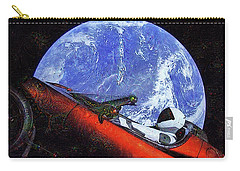 Space Meeting At Tesla Carry-all Pouch