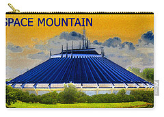 Space Mountain Carry-all Pouch by David Lee Thompson