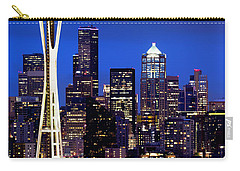 Space Needle At Night  Carry-all Pouch