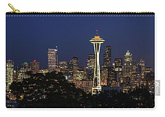 Carry-all Pouch featuring the photograph Space Needle by David Chandler