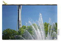 Space Needle In Seattle Carry-all Pouch