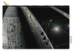 Space Shuttle Nose  Carry-all Pouch by David Collins