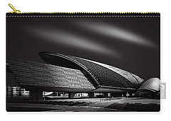 Dubai Metro Station Mono Carry-all Pouch by Ian Good
