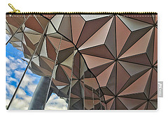 Spaceship Earth And Sky Carry-all Pouch