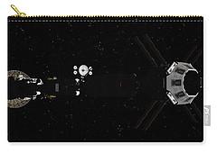 Spaceship Uss Savannah In Deep Space Carry-all Pouch