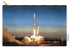 Spacex Iridium-5 Mission Falcon 9 Rocket Launch Carry-all Pouch