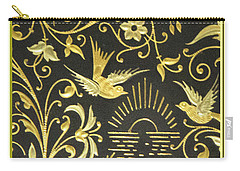Spanish Artistic Birds Carry-all Pouch
