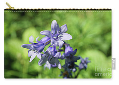 Spanish Bluebell Carry-all Pouch