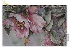 Spanish Camellias Carry-all Pouch