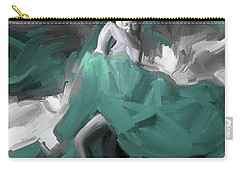 Carry-all Pouch featuring the painting Spanish Dance Art 56yt by Gull G
