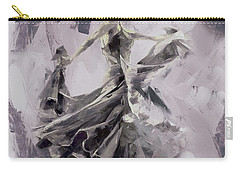 Carry-all Pouch featuring the painting Spanish Dance Painting 03 by Gull G