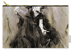 Carry-all Pouch featuring the painting Spanish Dancer 3400i by Gull G