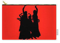 Carry-all Pouch featuring the photograph Spanish Dancers by Jeff Burgess
