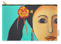 Spanish Girl Carry-all Pouch