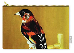 Spanish Gold Finch Carry-all Pouch
