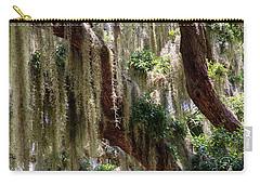 Spanish Moss Cascade Carry-all Pouch