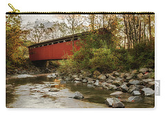 Carry-all Pouch featuring the photograph Spanning Across The Stream by Dale Kincaid