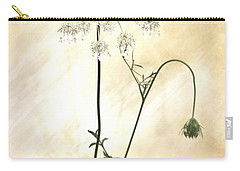 Sparkle Flower Carry-all Pouch