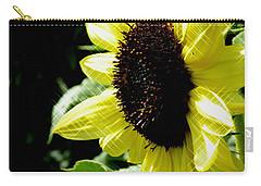 Sparkle Sunflower Carry-all Pouch