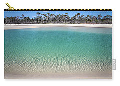 Sparkling Beach Lagoon On Deserted Beach Carry-all Pouch