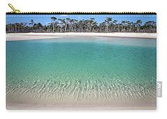 Sparkling Beach Lagoon On Deserted Beach Carry-all Pouch
