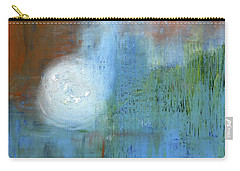 Carry-all Pouch featuring the painting Sparkling Sun-rays by Michal Mitak Mahgerefteh