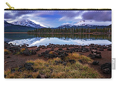 Carry-all Pouch featuring the photograph Sparks Lake by Cat Connor