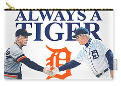 Sparky Anderson And Jim Leyland Carry-all Pouch