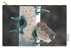 Sparrow And Seed Carry-all Pouch