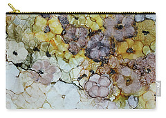 Carry-all Pouch featuring the painting Spash Of Sunshine by Joanne Smoley