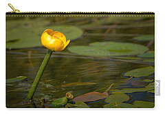 Carry-all Pouch featuring the photograph Spatterdock by Jouko Lehto