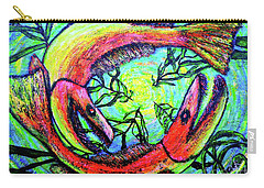 Carry-all Pouch featuring the painting Spawn by Viktor Lazarev