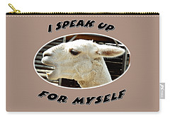 Speak Up Carry-all Pouch