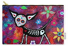 Carry-all Pouch featuring the painting Special Perrito by Pristine Cartera Turkus