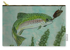 Speckled Carry-all Pouch by Terry Honstead