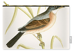 Spectacled Warbler Carry-all Pouch by English School
